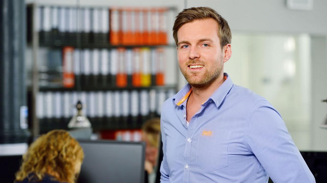 Foto Julian Wahlenberg Head of Inbound Sales