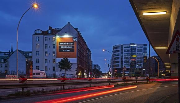 Hamburg - Hochbrücke Amsinckstraße