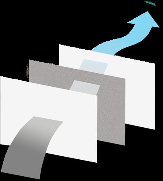 Grafik theBreath Schaubild Gewebeaufbau